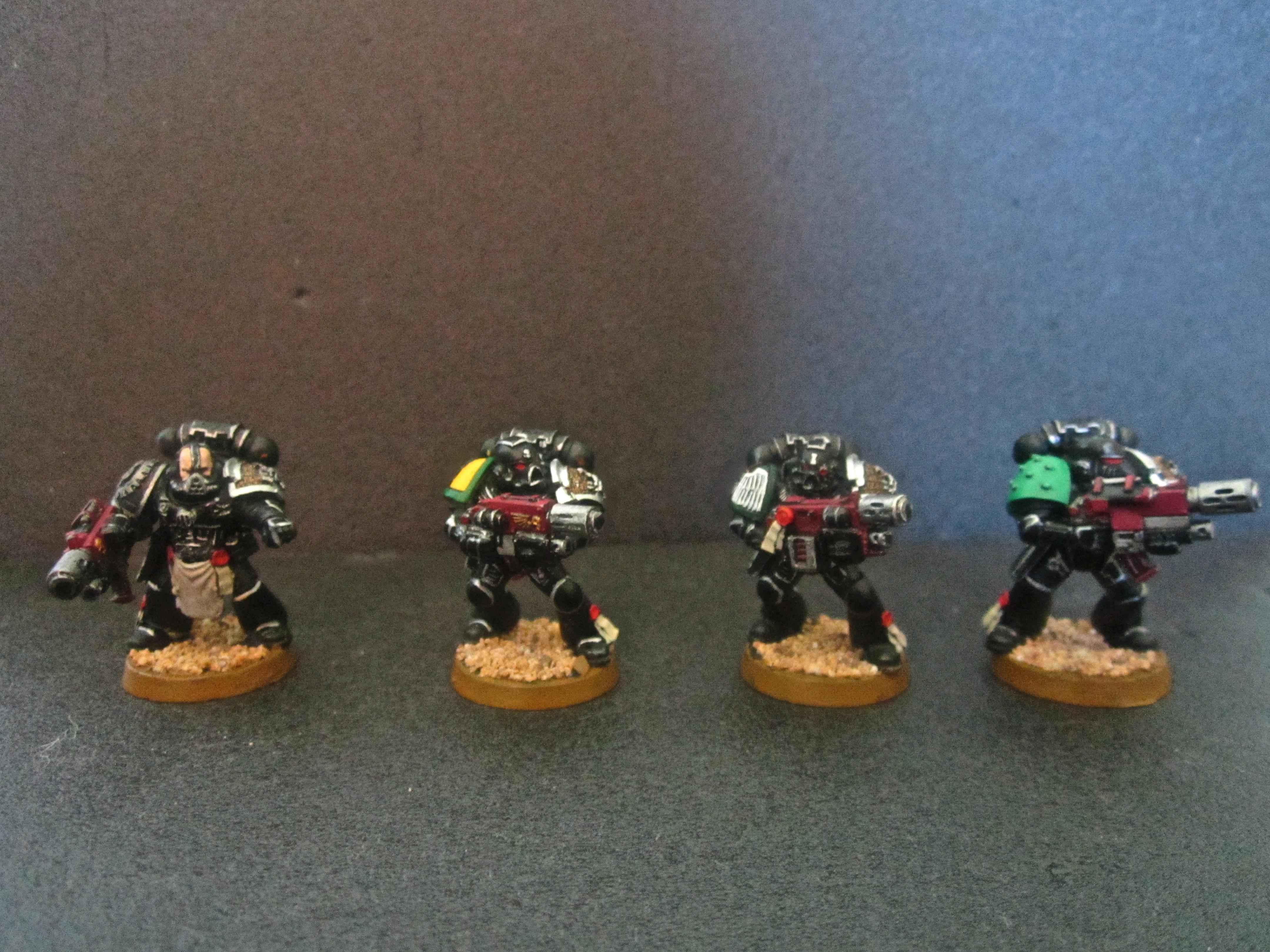 Combi-melta, Death Watch, Deathwatch, Inquisition, Space Marines, Stern Guard