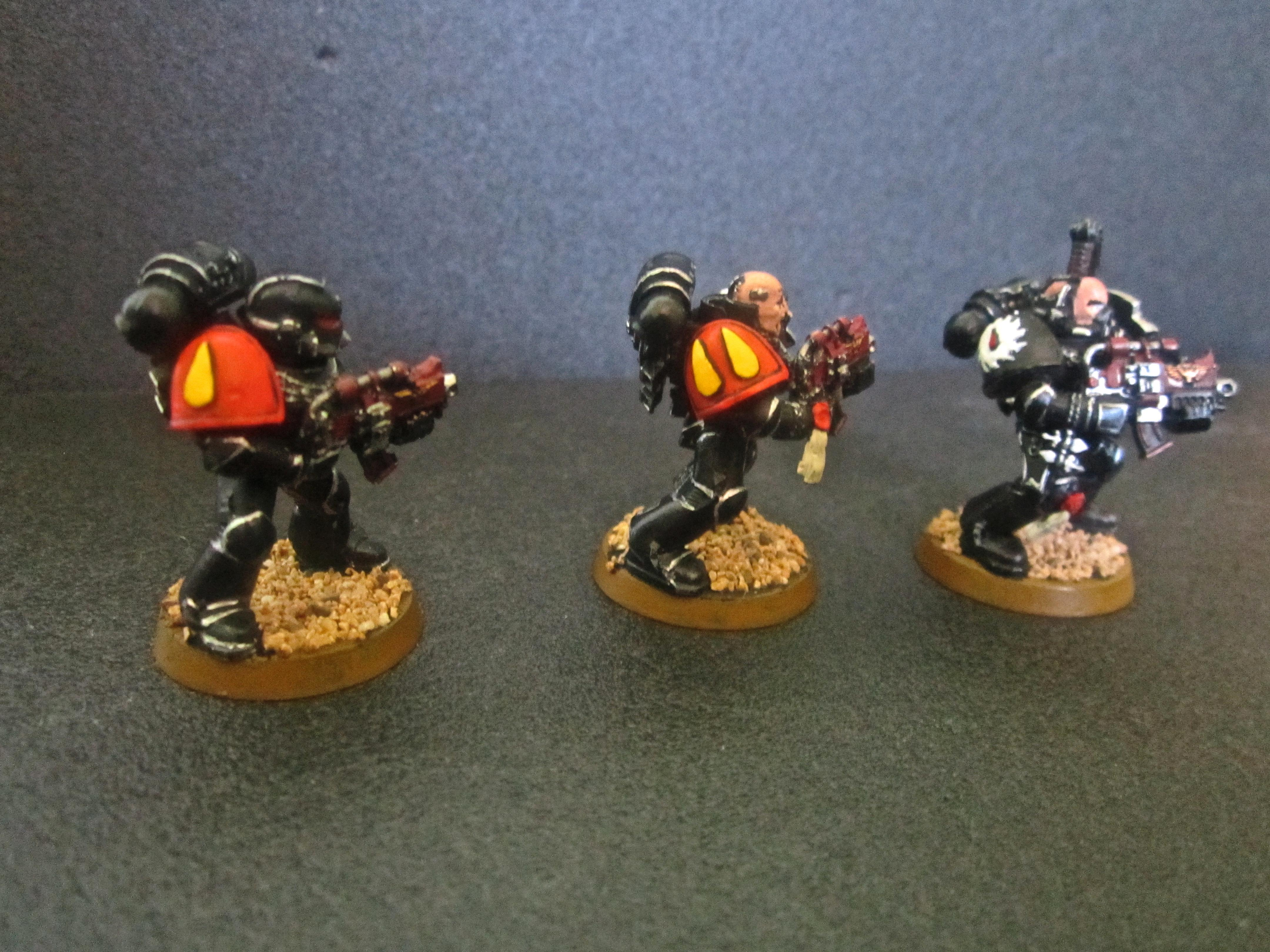 Blood Angels, Death Watch, Flesh Tearers, Inquisition, Space Marines
