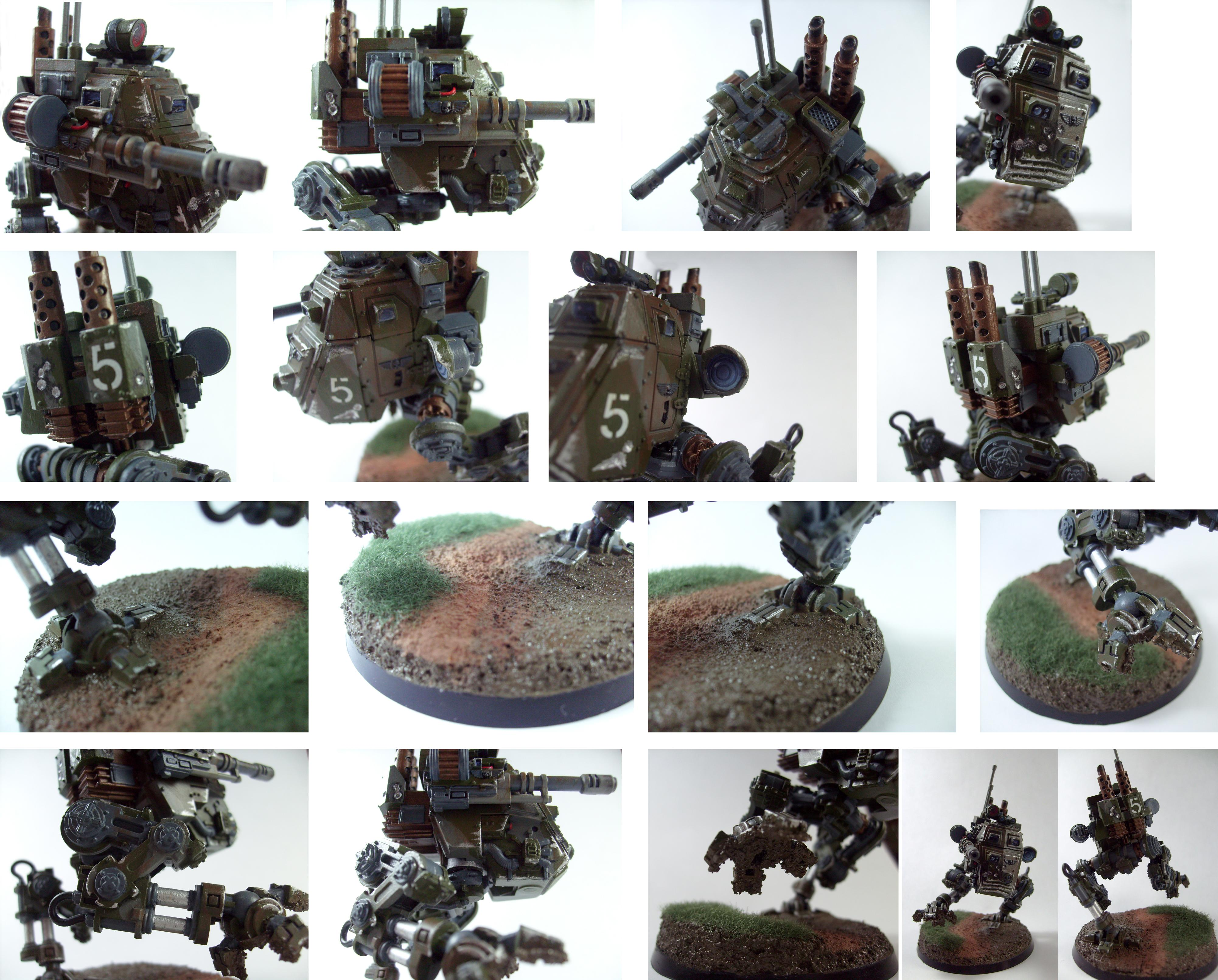 Base, Camouflage, Grass, Imperial Guard, Mud, Sentinel