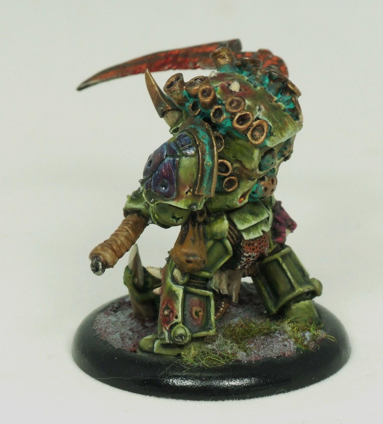 Death Guard, Typhus