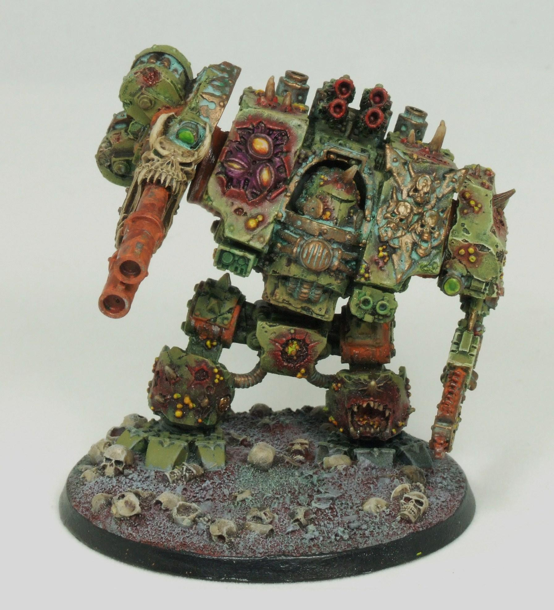 Chaos Space Marines, Death Guard, Dreadnought, Nurgle