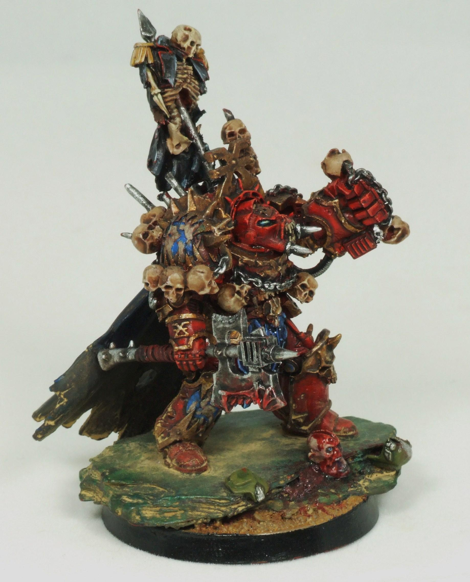 Chaos, Chaos Space Marines, Terminator Armor, World Eaters