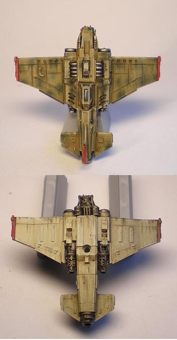 Aeronautica Imperialis, Airplane Camo, Bommer, Forge World, Imperial Navy, Marauders, Orks, Resin, Thunderbolt, Valkyrie, Warhammer 40,000