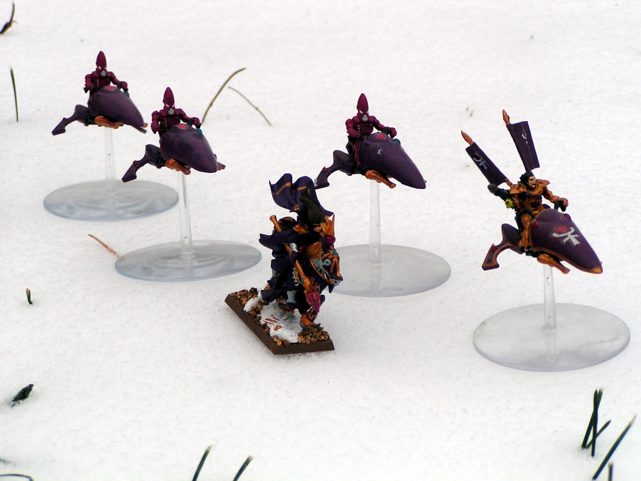 Conversion, Eldar, High Elves, Jetbike, Warlock