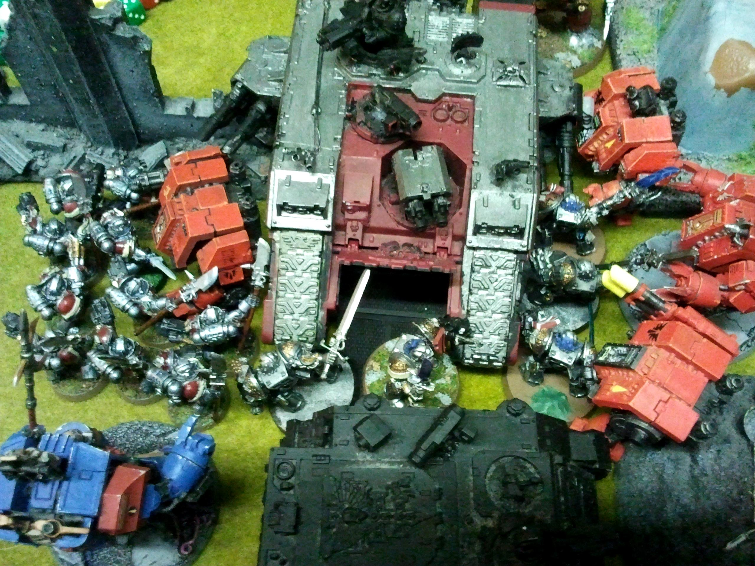 Blood Angels vs Grey Knights