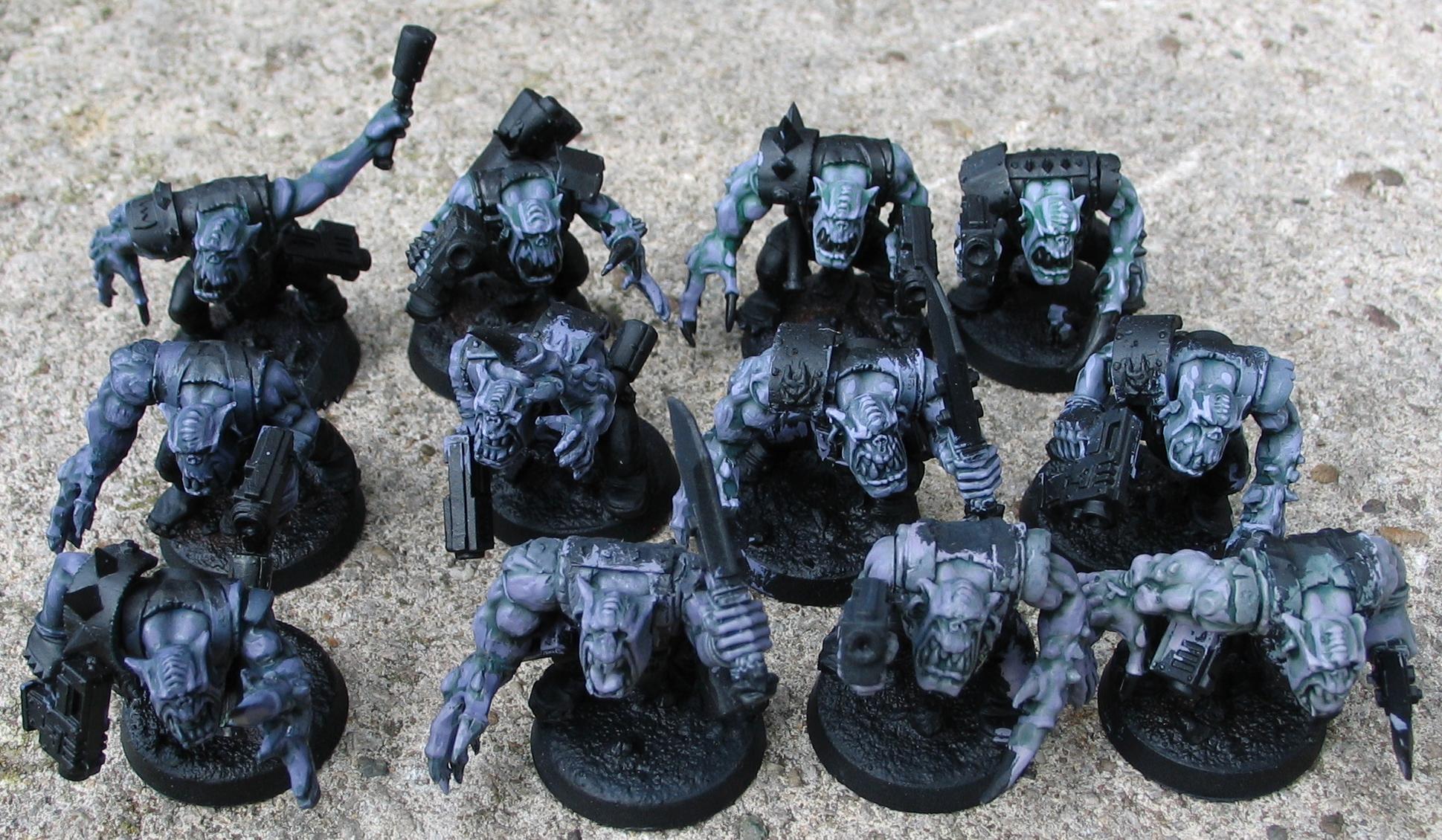 Genestealer Cult, Genestealer Hybrid, Kommando, Orks
