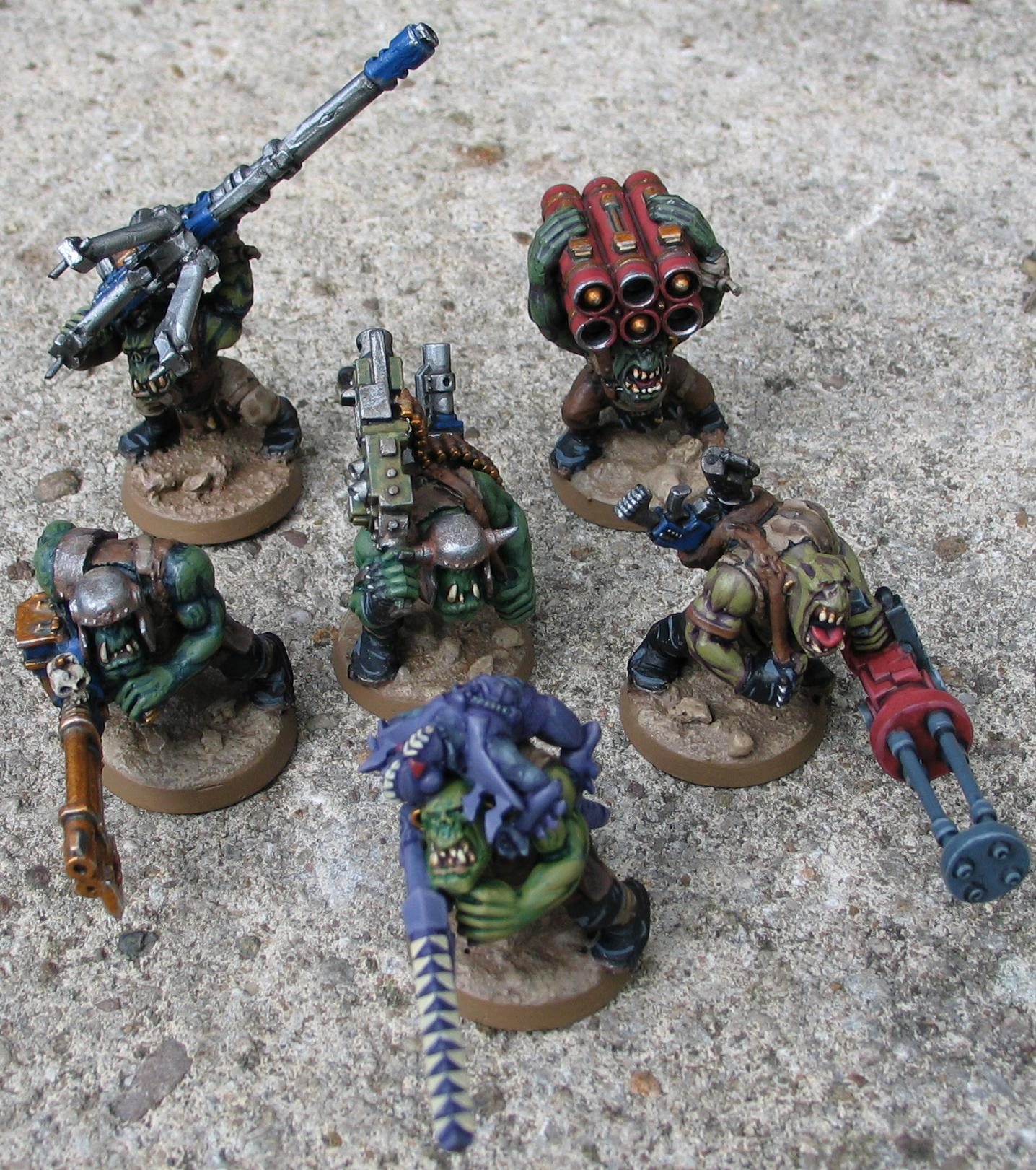 Chaos Abuse, Conversion, Deathskulls, Eldar Abuse, Lootas, Marine Abuse, Orks, Tau Abuse