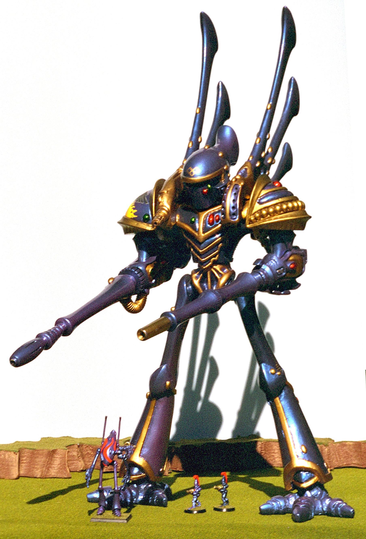 Armorcast, Eldar, Phantom, Titan