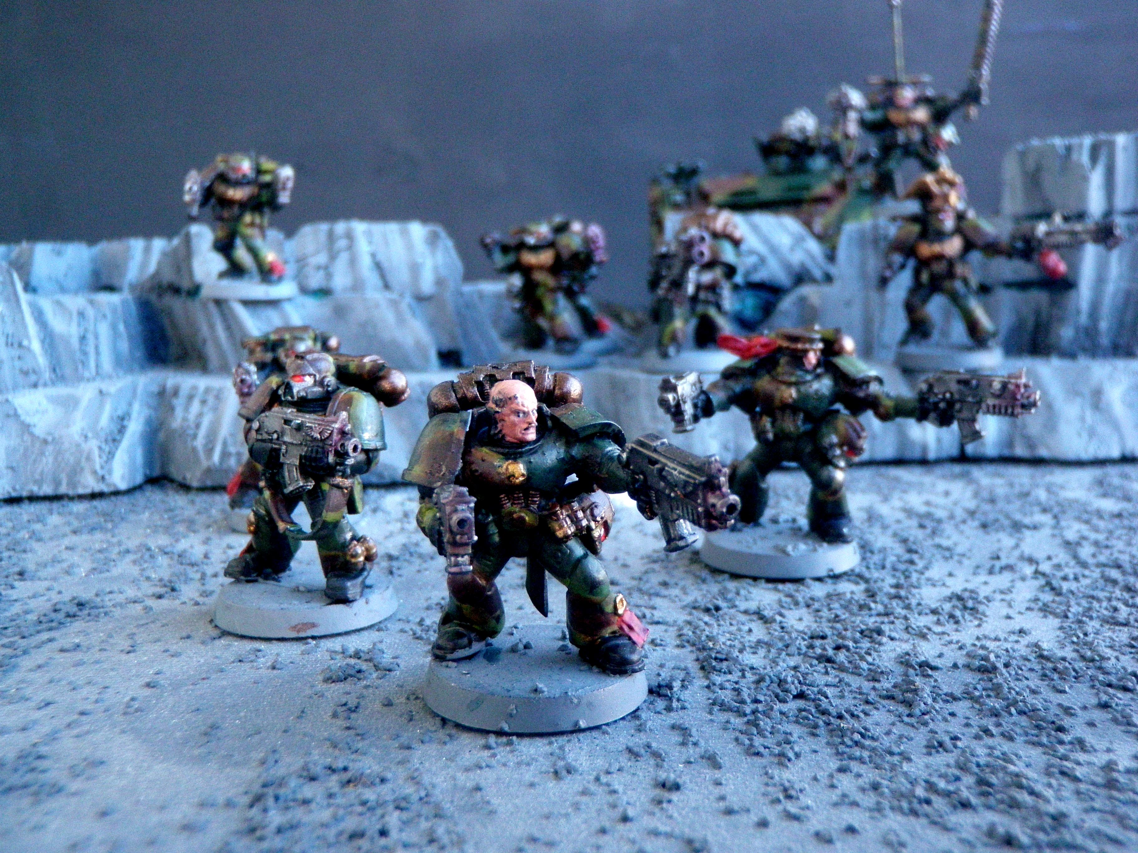 Camouflage, Space Marines