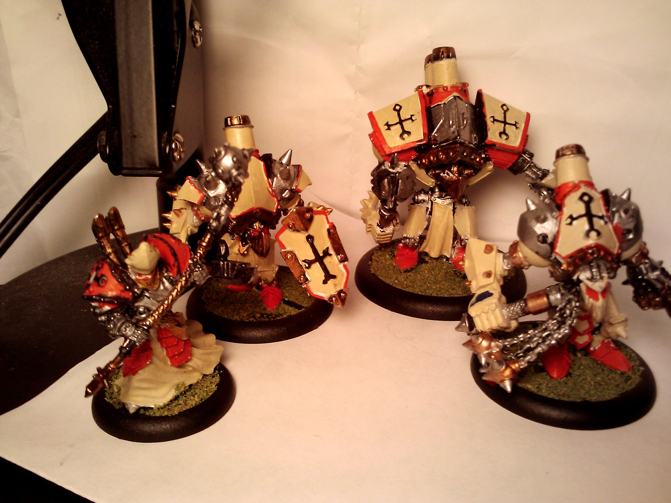 Paint Job, Protectorate, Protectorate Of Menoth, Warjack, Warmachine