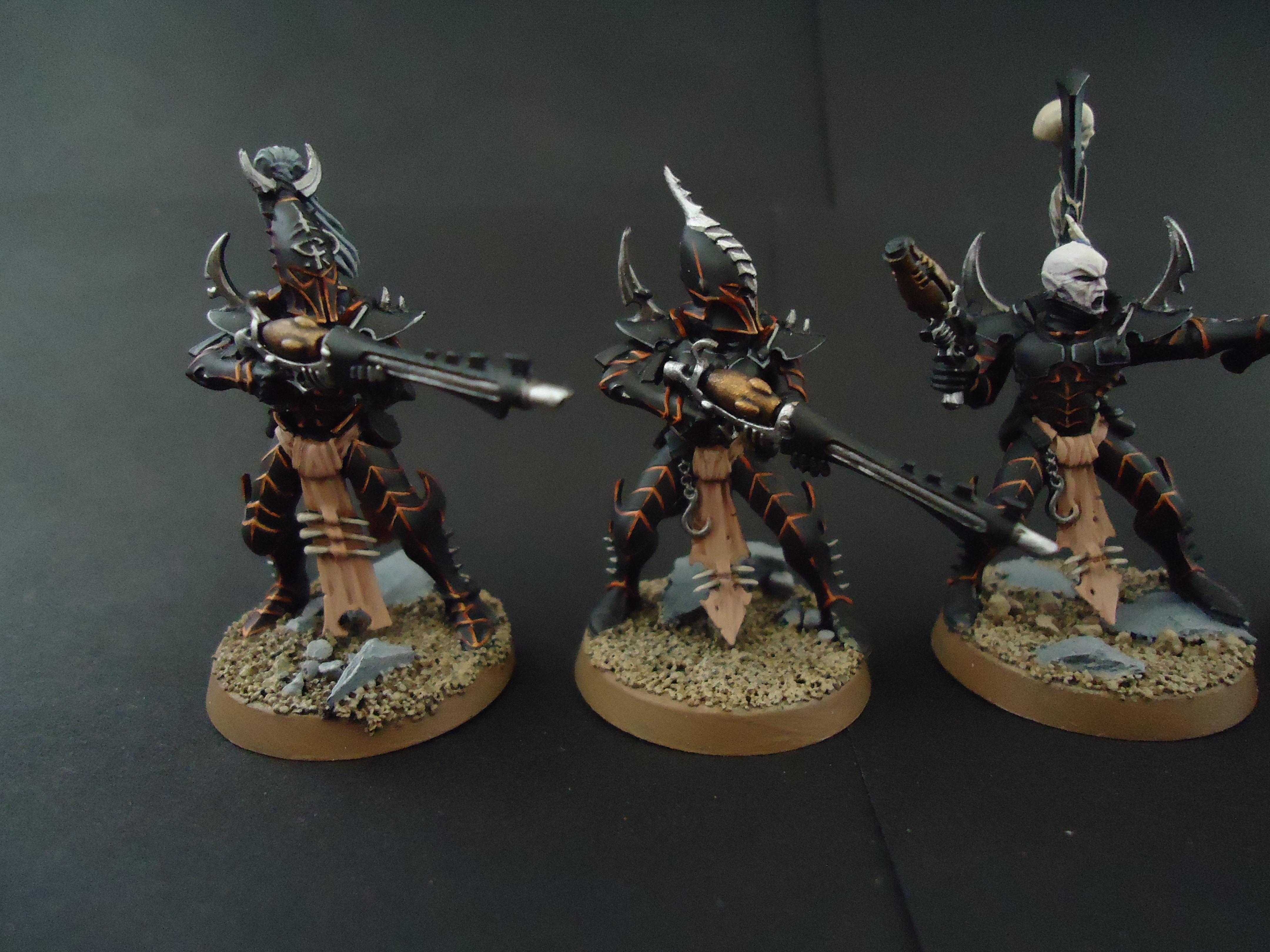 Dark Eldar, Drukhai, Kabal, Kalabite Warriors, Warriors