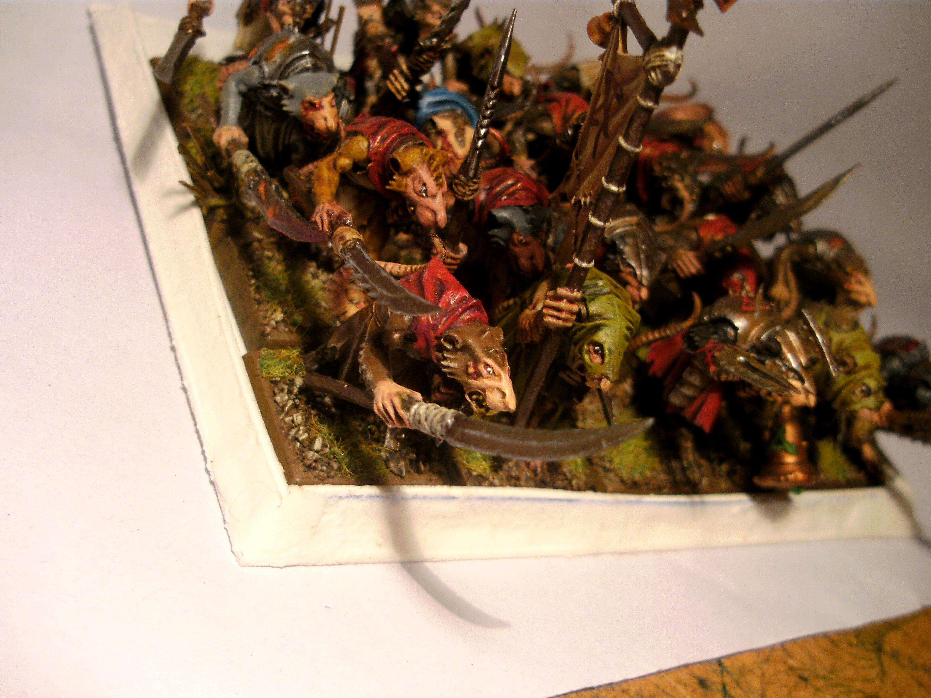 Clanrats, Skaven, Skaven with boils and such