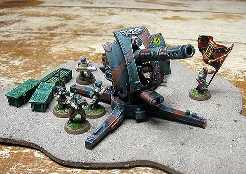 Artillery, Imperial Guard, Toy