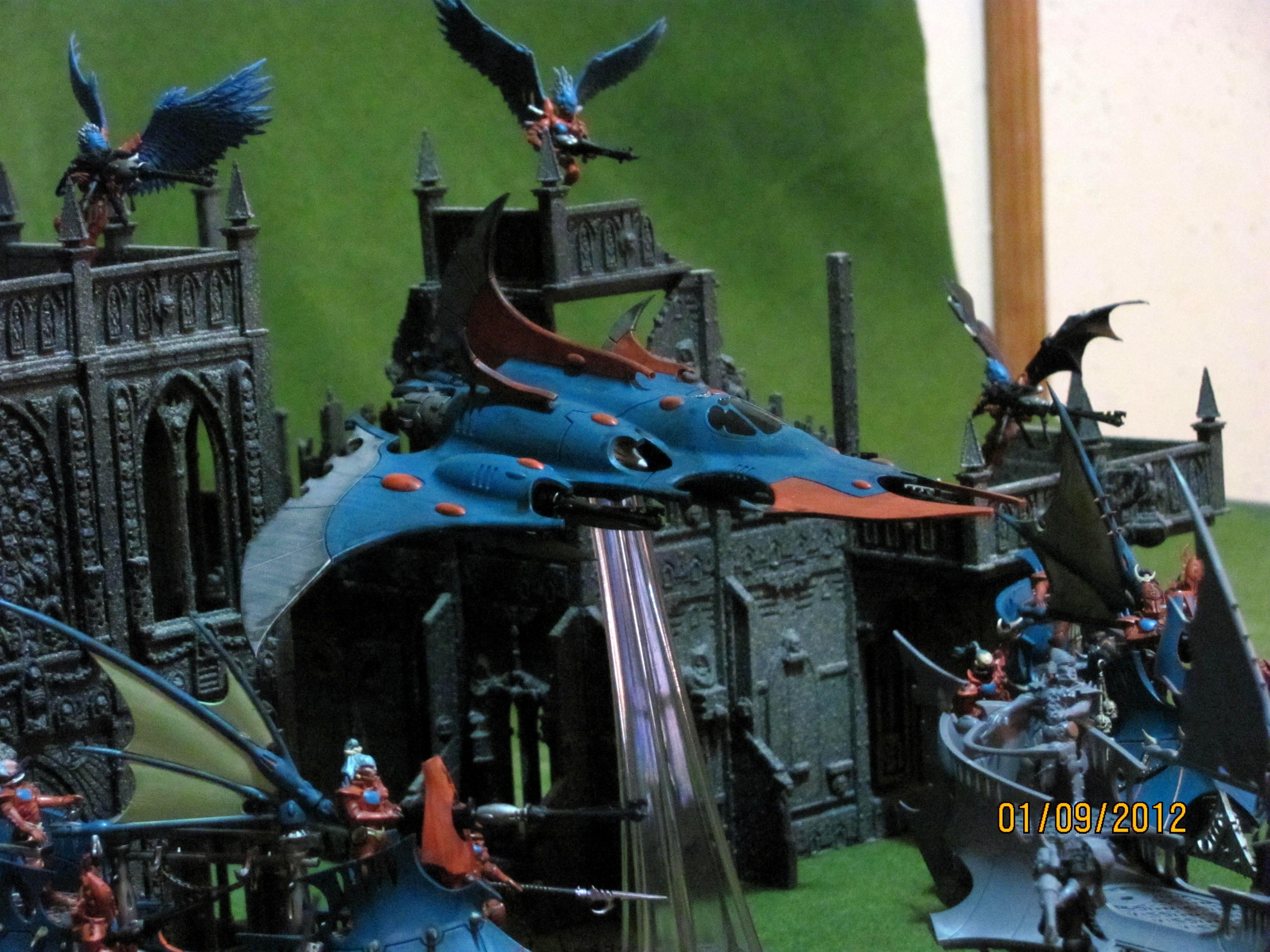 Dark Eldar, Flyer, Razor Wing, Warhammer 40,000