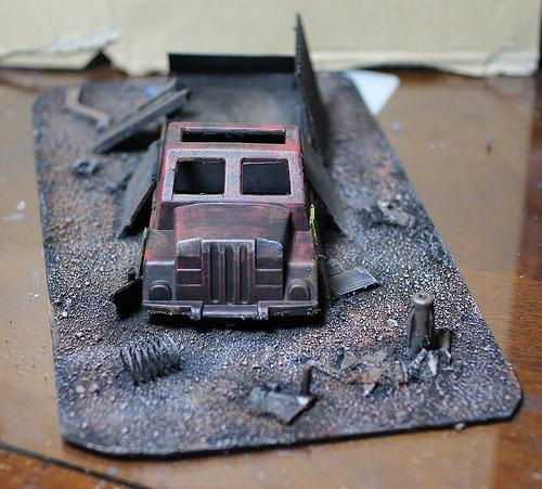 Terrain, Wreckage