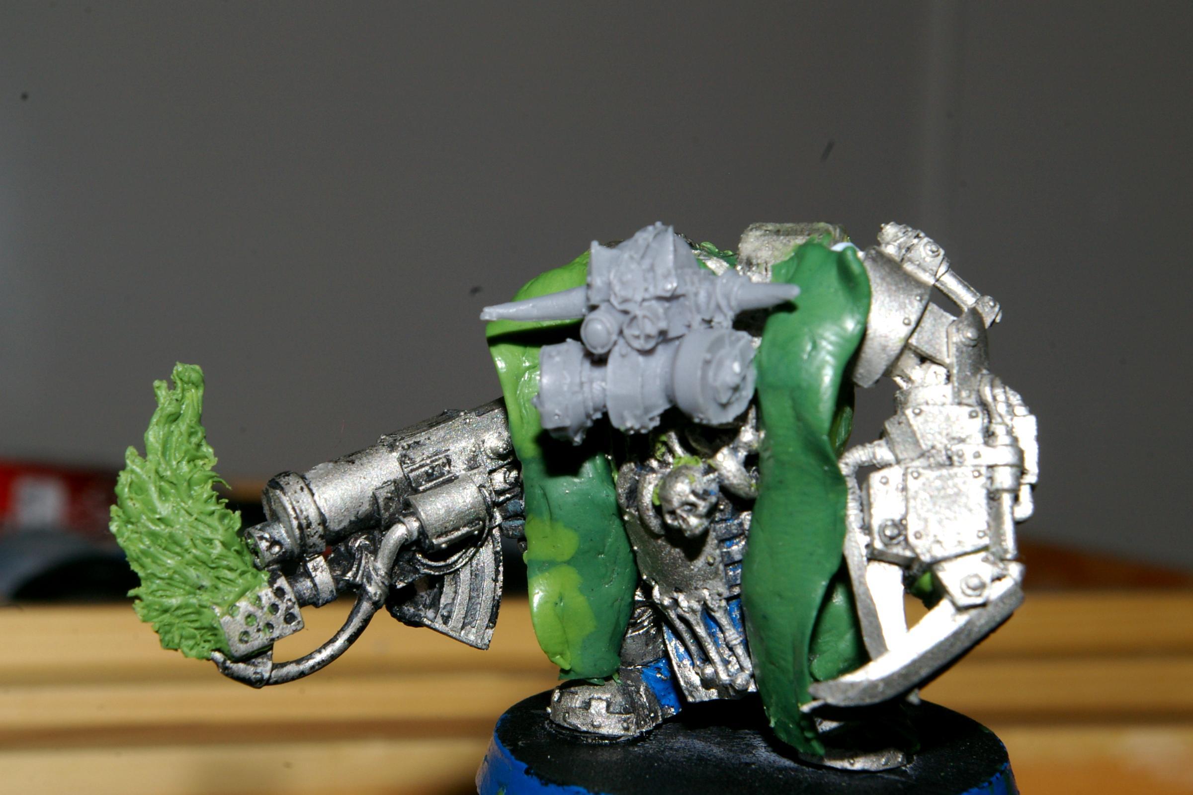 Ork Boss Conversion, krak no mega armour front