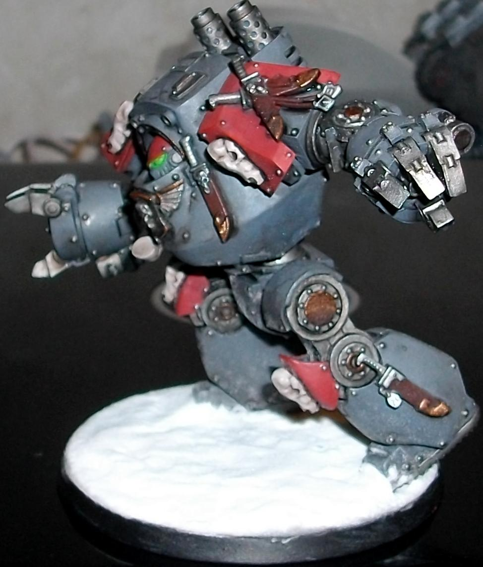 Airbrush, Contemptor, Dreadnought, Space Wolves