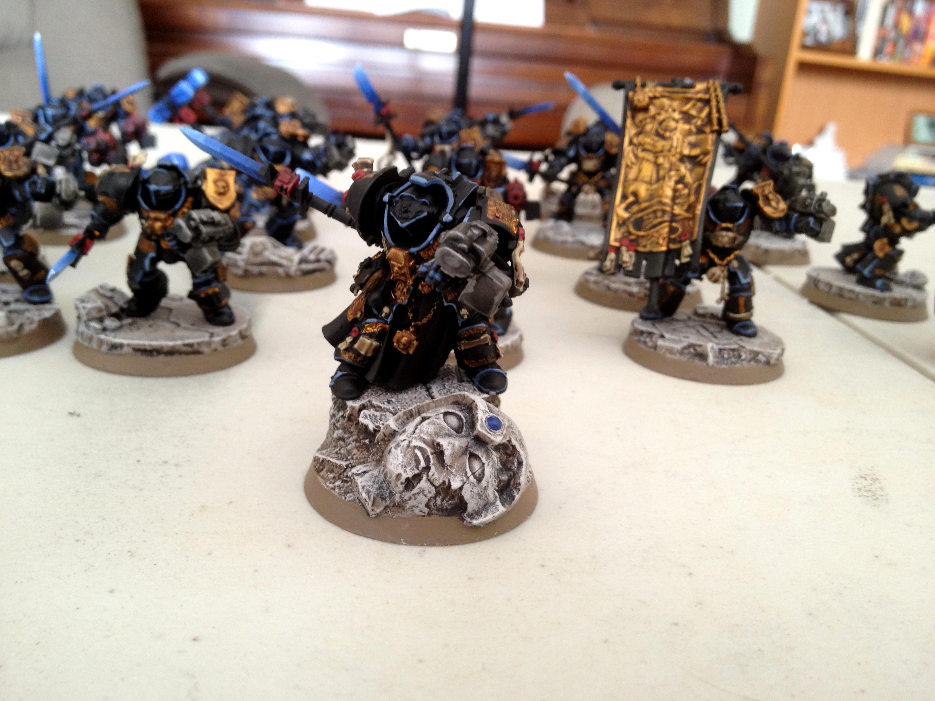 Dragonforge, Grey Knights, Resin Bases