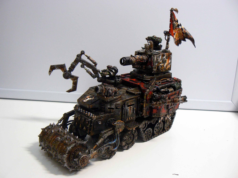 Battlewagon, Orks, battlewagon