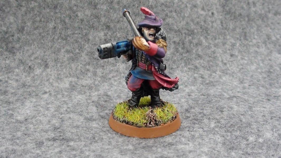 Pimp Commissar 3 - straight on