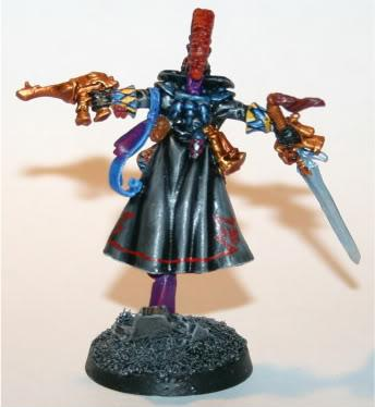Eldar Harlequin Troupe Leader - Back