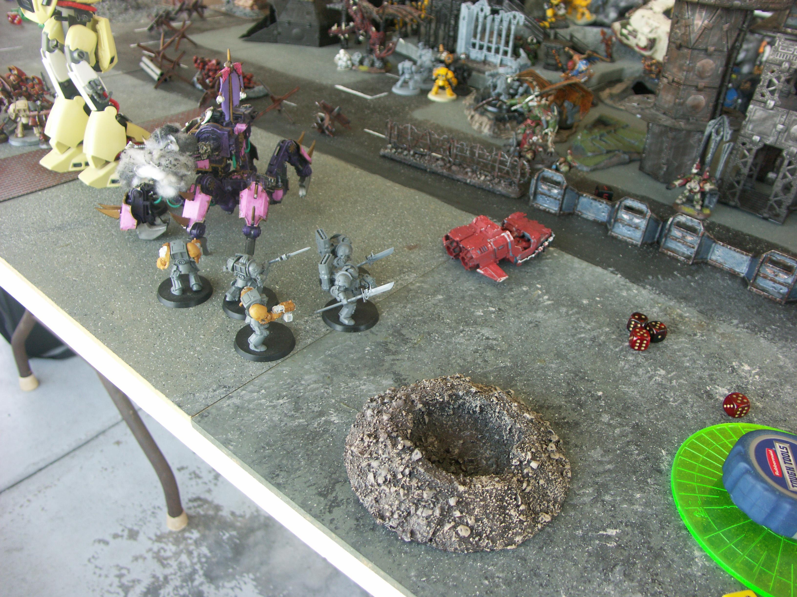 Apocalypse, Battle Report, Black Templars, Chaos, Imperial Fists, Nurgle, Planetstrike