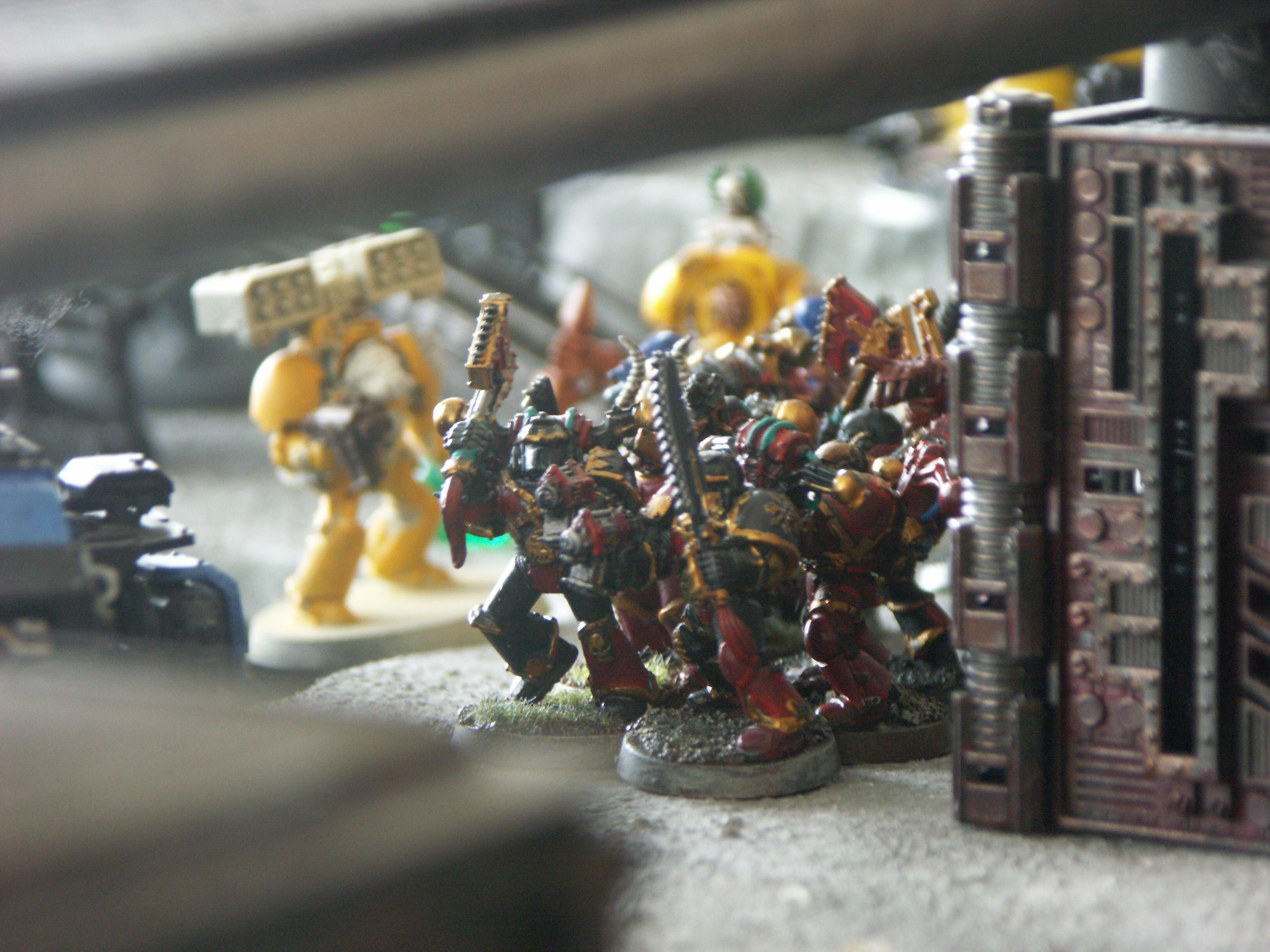 Apocalypse, Battle Report, Black Templars, Chaos, Imperial Fists, Nurgle, Planetstrike