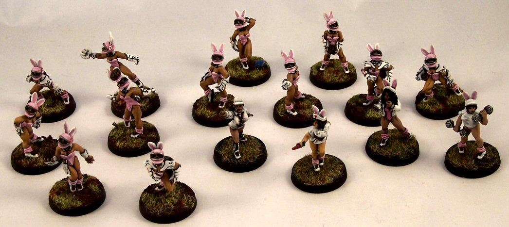 Amazons, Blood Bowl, Bunny Girls, Coach, Female, Females, Humans, Ref, Trainer