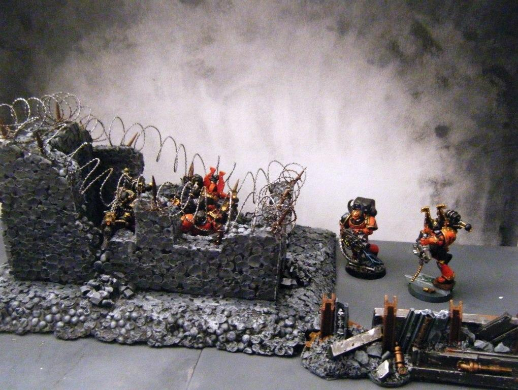 Astartes, Chaos, Chaos Space Marines, Décor, Havoc, Khorne, Space Marines, Space Marines Du Chaos, Terrain, World Eaters