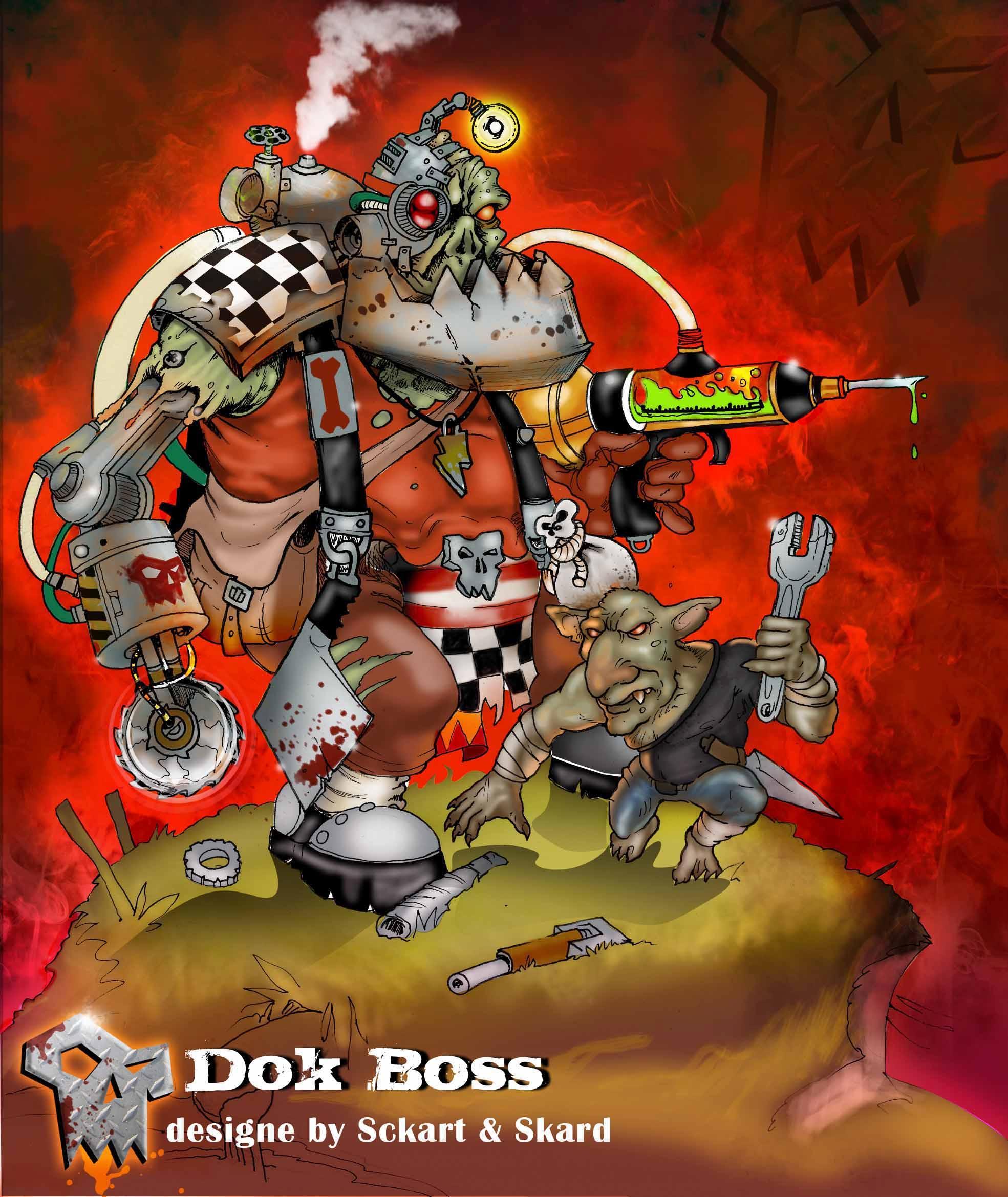 Artwork-ork, dok boss
