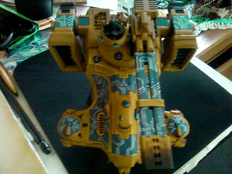 Hammerhead, Railgun, Tau Empire, Warhammer 40,000
