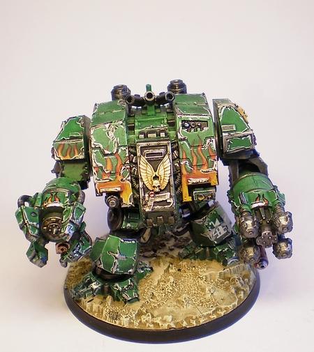 Adeptus Astartes, Dreadnought, Ironclad, Salamanders, Space Marines, Warhammer 40,000