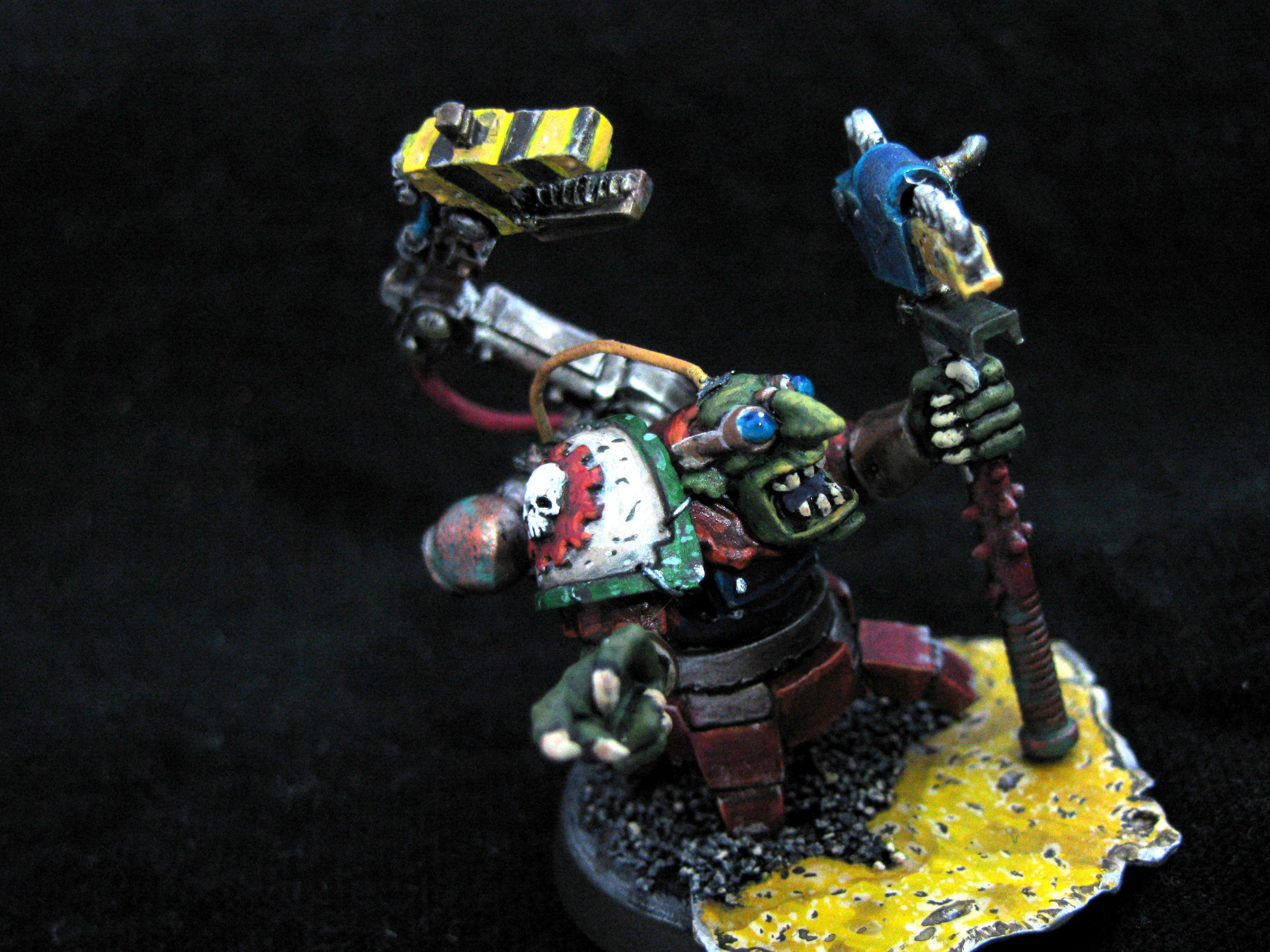 Bionik, Conversion, Cybork, Grots, Mekboy, Trade