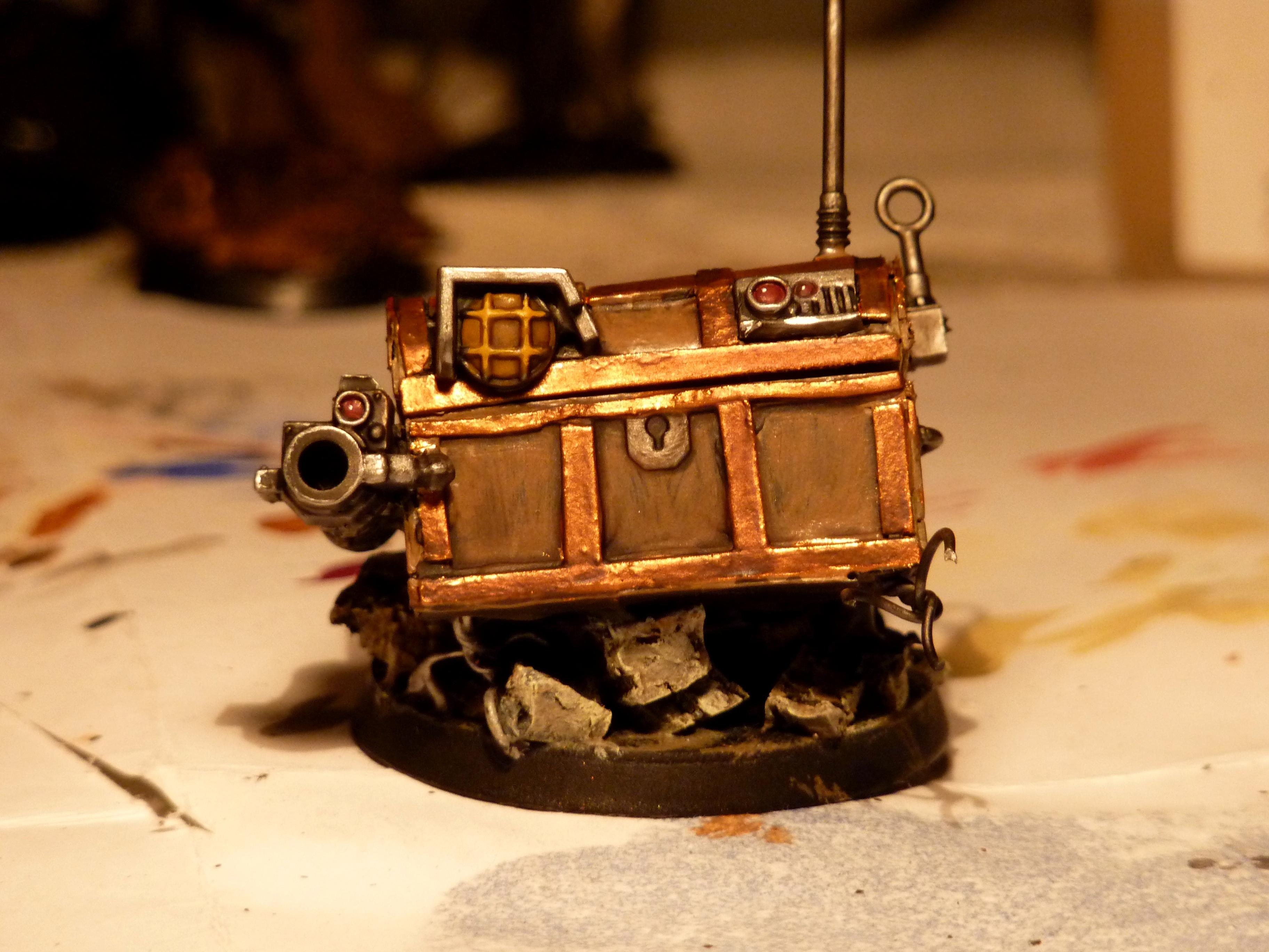 Discworld, Give Away, Luggage, Robot, Scratch Build, Warhammer 40,000