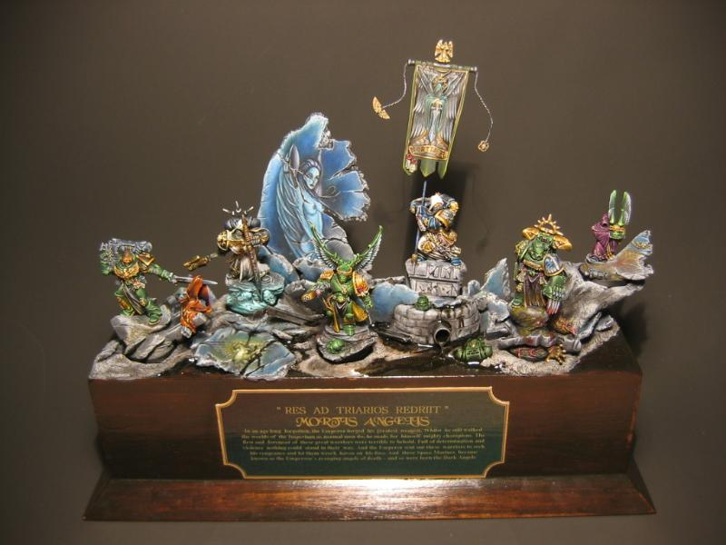 Dark Angels, Diorama, Space Marines, Warhammer 40,000