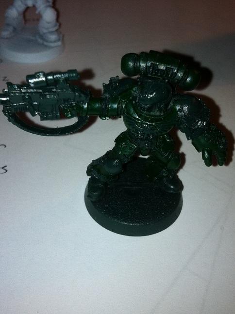 Hand Painted, Salamander, Space Marines