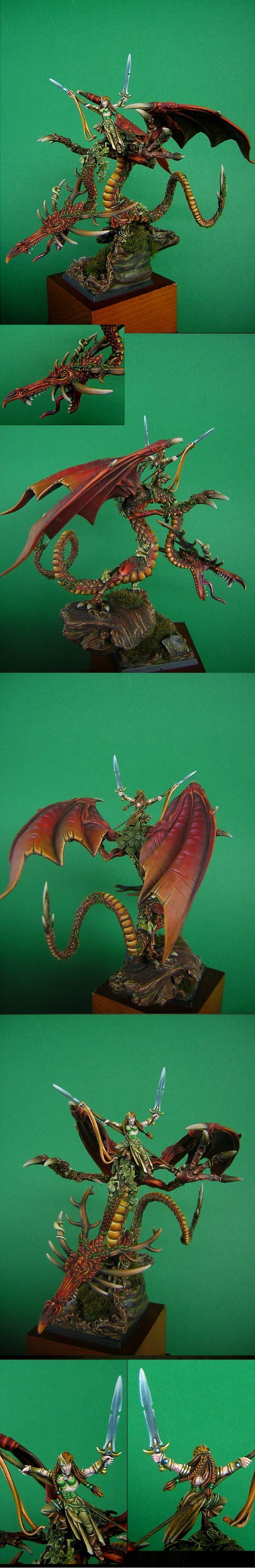 Dragon, Wood Elves, FAFNIR the Forrest Dragon