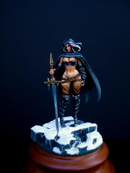 54mm, Female, Kingdom Of Death, Warhammer Fantasy, Warriors