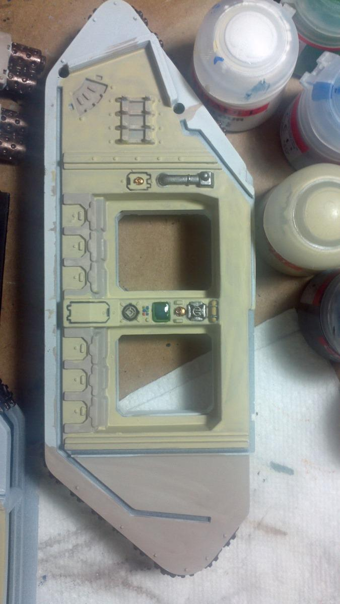 Right panel. Notice that I forgot to put in the middle door