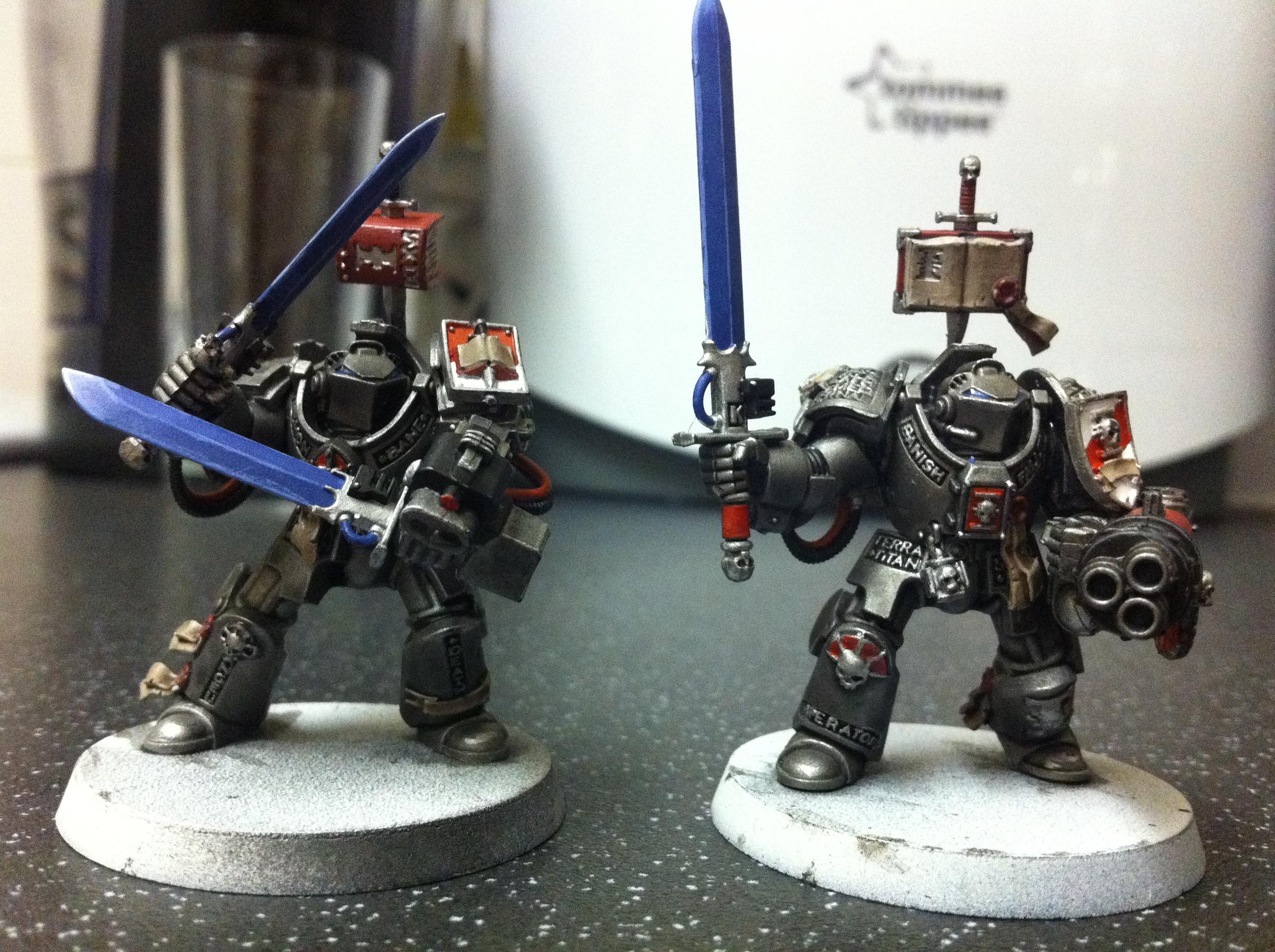 Grey Knights, paladins