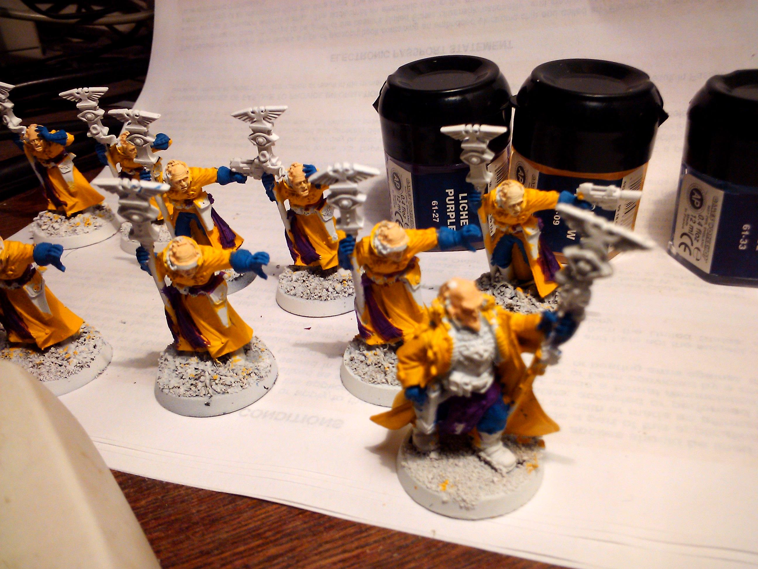 Conversion, Imperial Guard, Mordian Iron Guard, Paint Scheme, Psykers, Warhammer 40,000