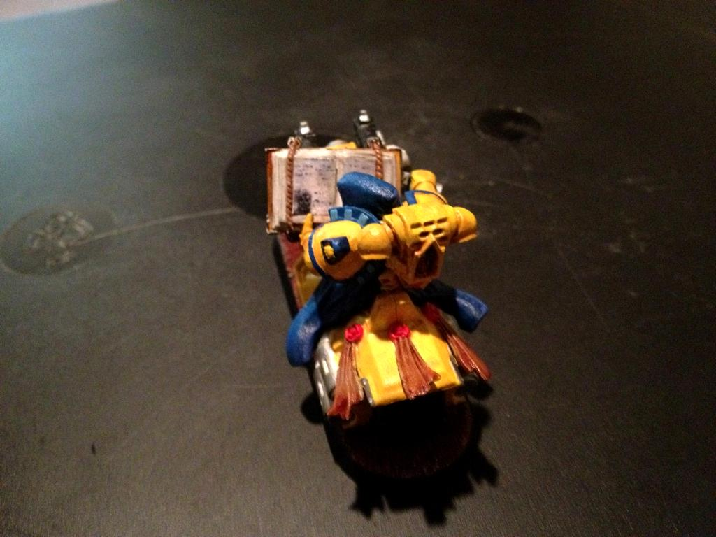 Bike, Captain, Characters, Imperial Fists, Librarian, Space Marines