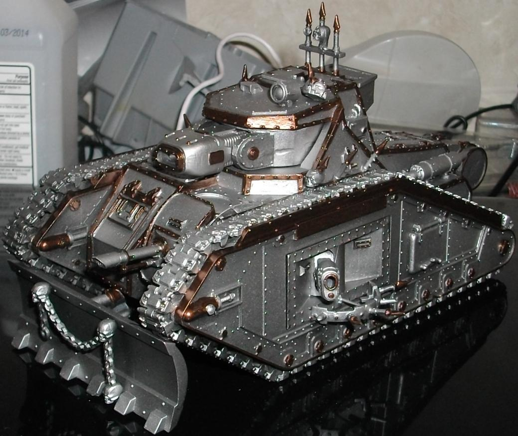 Airbrushed, Chaos, Conversion, Malcador, Painting, Work In Progress
