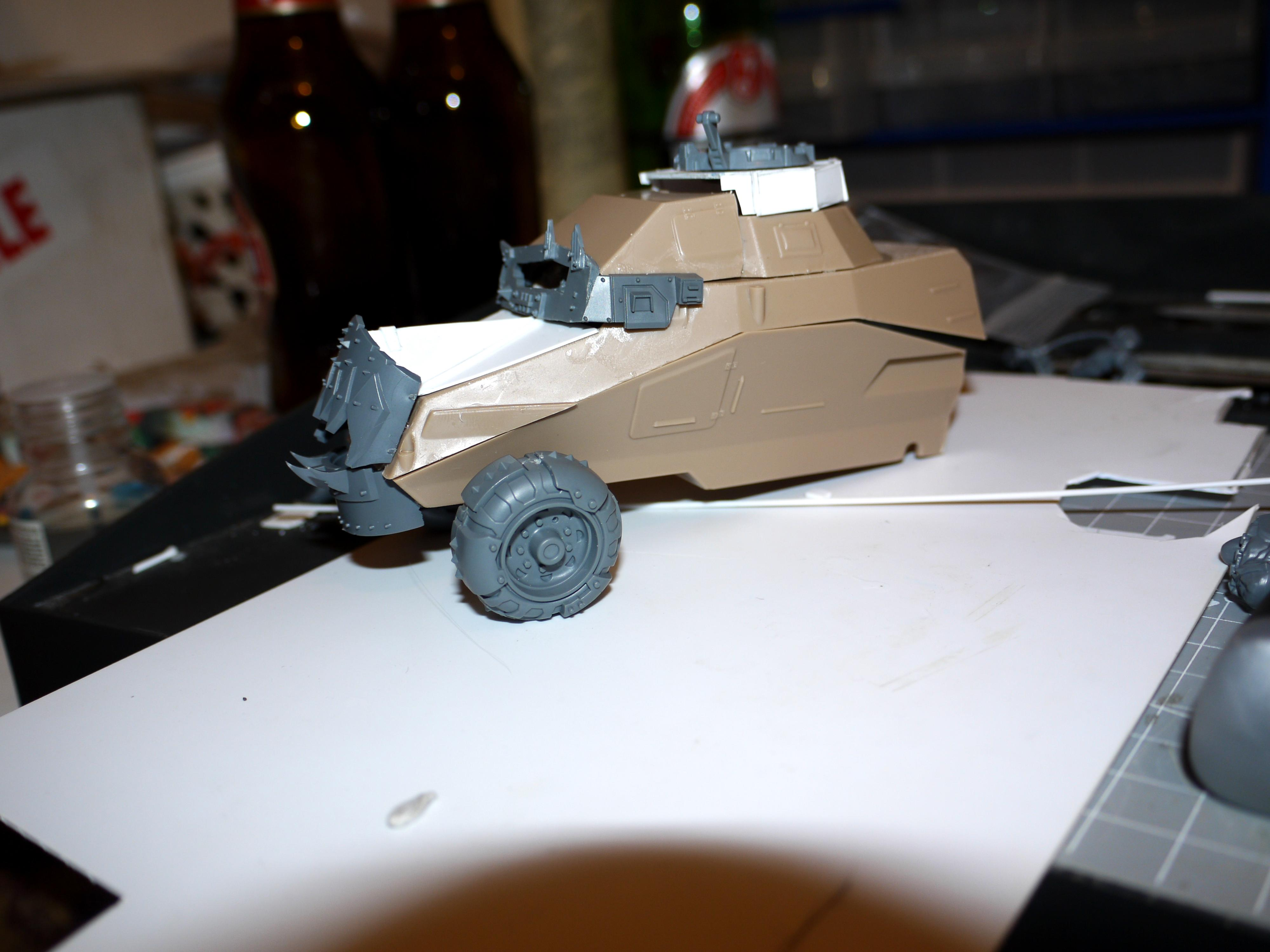 Half trak side