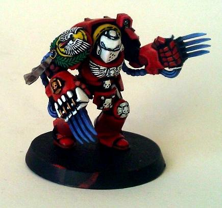 Blood Angels, Lightning Claws, Space Marines, Terminator Armor, Warhammer 40,000
