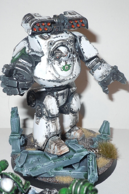 Contemptor, Death Guard, Dreadnought, Heresy Era, Space Marines