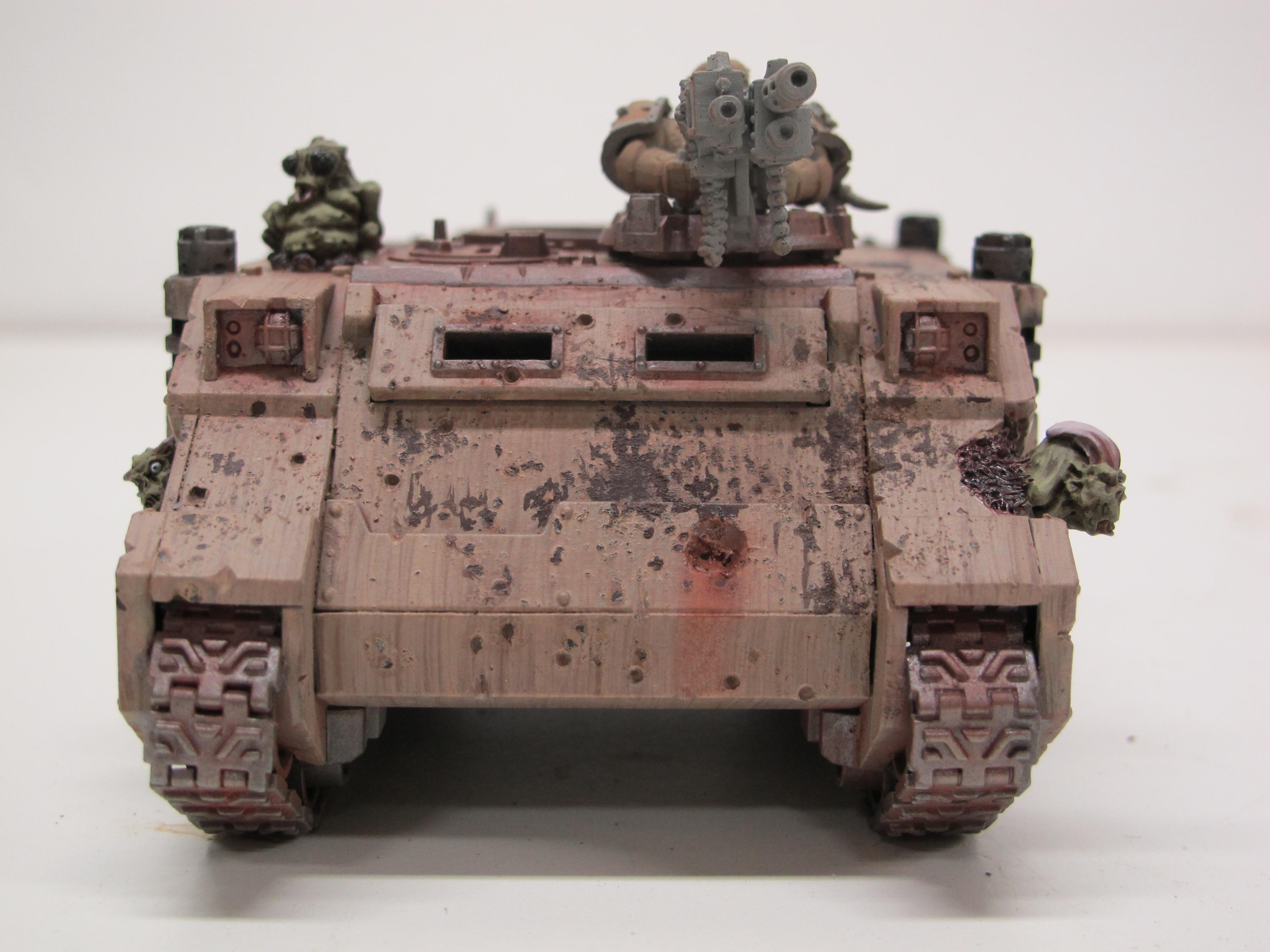 Chaos, Chaos Space Marines, Death Guard, Lords Of Decay, Nurgle, Plague Marines, Rhino, Rust
