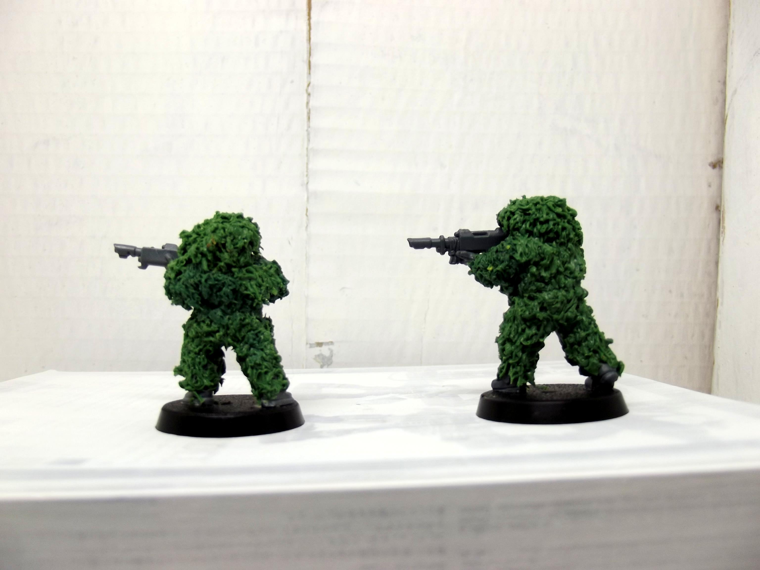 Camo Suit, Greenstuff, Imperial Guard, Lasgun