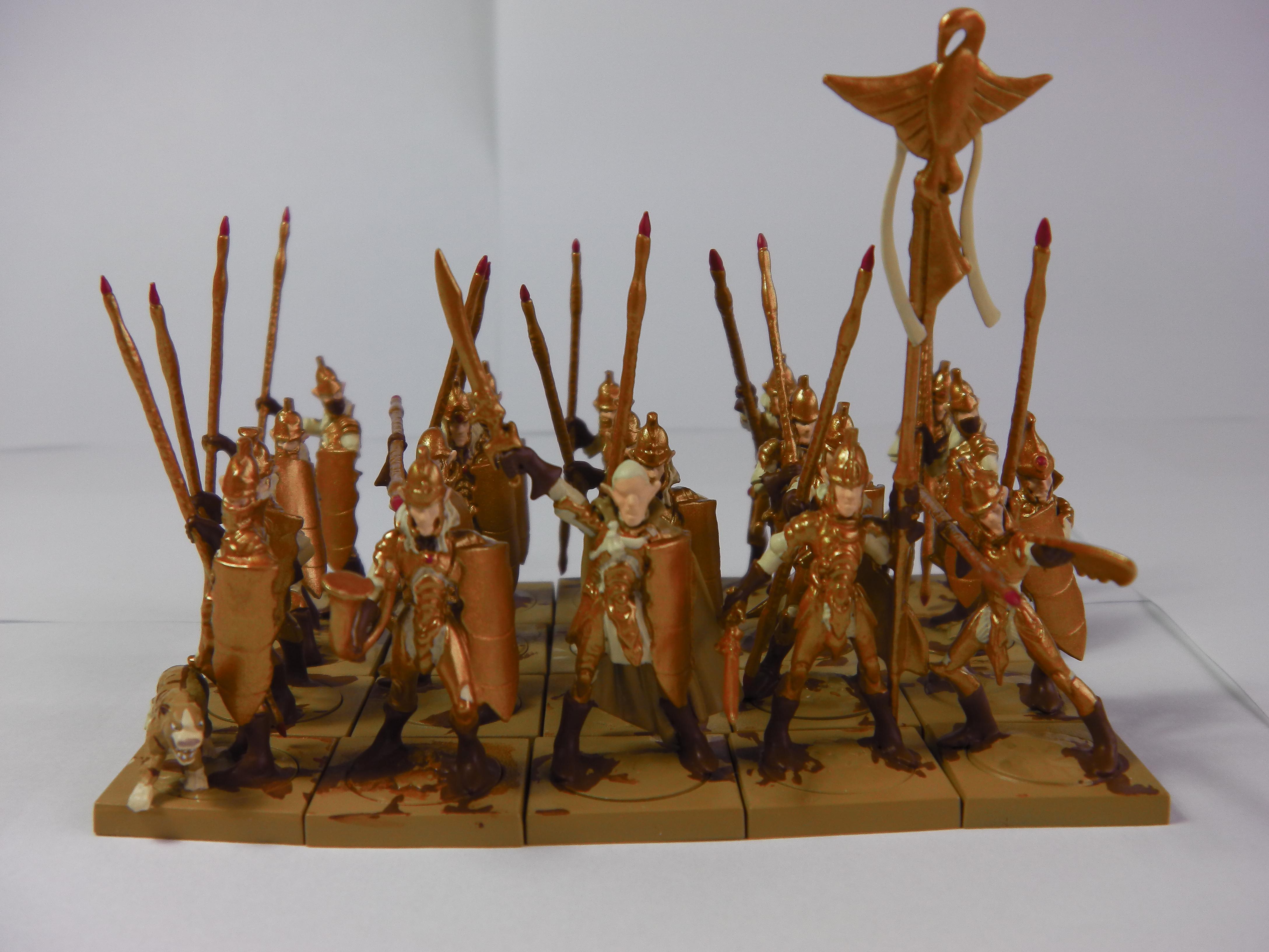 Elves, Kings Of War, Mantic, Spearmen