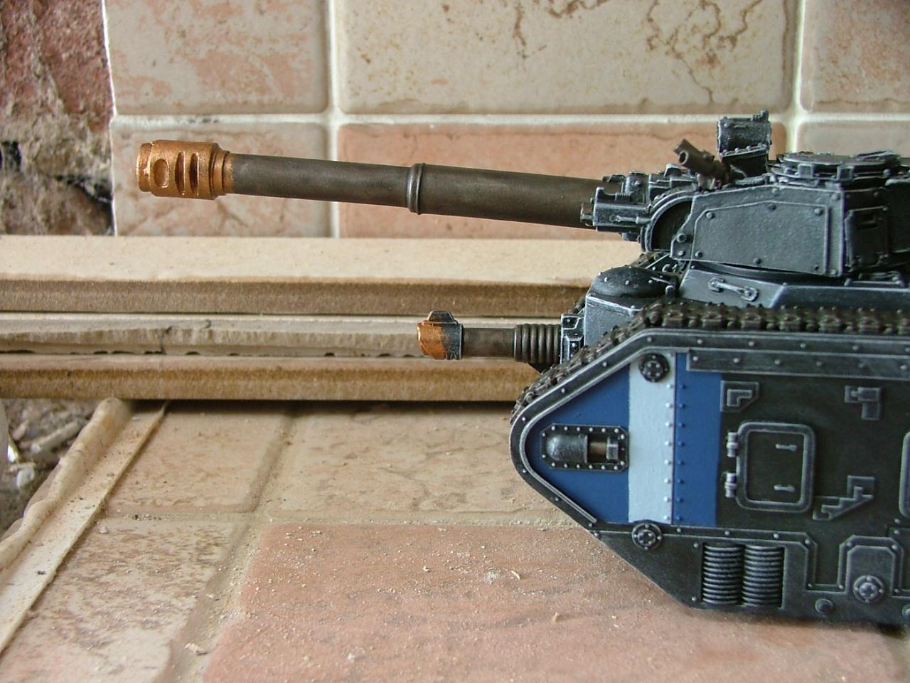 Leman Russ, Painting, Tank, Tutorial, Vanquisher, Work In Progress